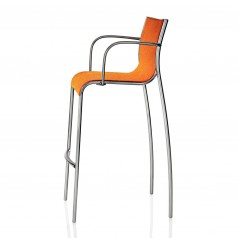 Magis Paso Doble Bar Stool (with Armrests)