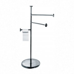 Alessi Birillo Towel & Toilet Roll Floor Stand