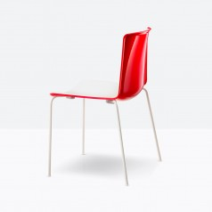 Pedrali Tweet 890 Bi-Colour Chair