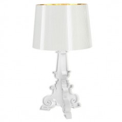 Kartell Bourgie table lamp white & gold
