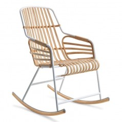 Horm Casamania Raphia Rocking Chair