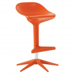 Kartell Spoon Height Adjustable Barstool Swivel Gloss