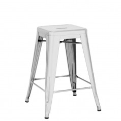 Tolix H 60 Medium Stool Lacquered Steel