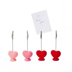 Present Time Heart Memo Holders