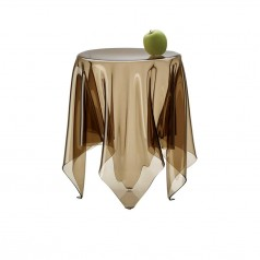 Essey Illusion Low Cloth Table Brown