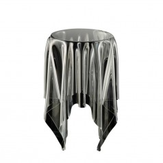 Essey Tall Illusion clear table cloth table