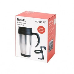 Ethos Travel Mug with Free Holder
