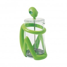 Alessi Green Inka Press Filter Coffee Maker