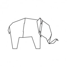Magis Me Too My zoo cardboard Elephant