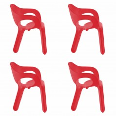 Magis Easy, set of 4 chairs