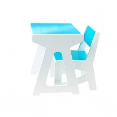 Present Time JIP Kids Desk & Chair Set - Blue