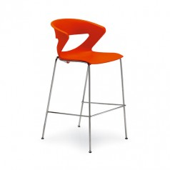 Kastel Kicca Bar Stool (4 Legs)