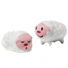 A di Alessi Tiny Little Sheep Set of 2 Figurines