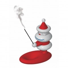 A di Alessi Natalincensino Figurine and Incense Burner