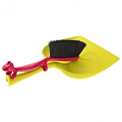 Koziol Dustin dustpan and brush