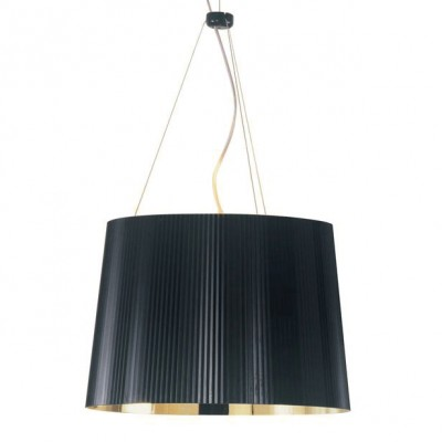 Kartell Ge Pendant Suspension Light Metallic Ferruccio
