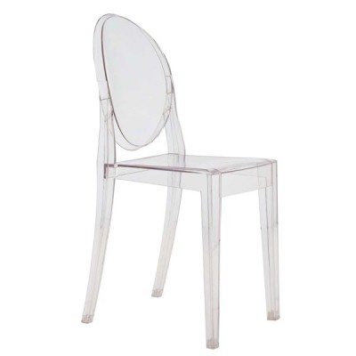 Kartell Victoria Ghost Chair - Elegant Dining Chair by Philippe Starck