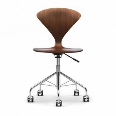 Cherner swivel height adjustableTask mobile chair