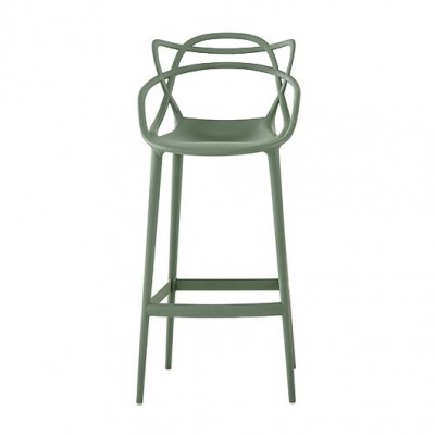 Kartell Masters High Barstool (75cm) - Designed by Philippe Starck