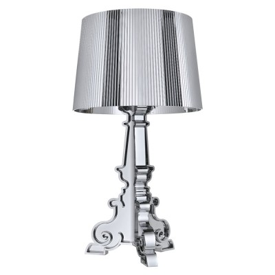 kartell bourgie lamp silver chromed kartell light. Black Bedroom Furniture Sets. Home Design Ideas