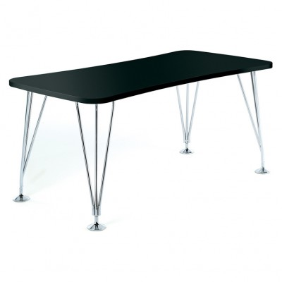 Kartell Max Table on Glides by Ferruccio Laviani
