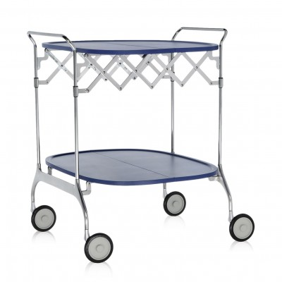 Kartell Gastone Trolley (Folding) - Antonio Citterio / Oliver Low