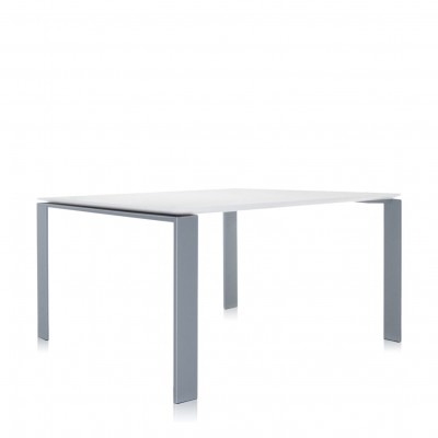 Kartell Four Square Table (128x128cm) - Scratch Proof Laminate Top