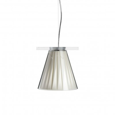 Kartell Light-Air Pleated Suspension Lamp