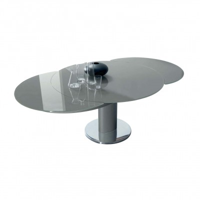 Bontempi Casa Giro Extending Table Single Column
