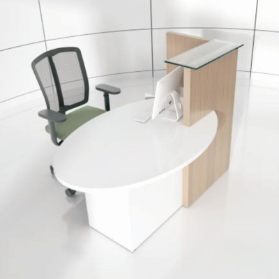 MDD Ovo Small Reception Desk