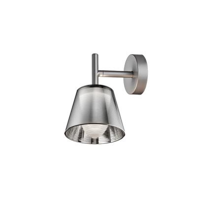 Flos Romeo Babe Soft K W wall light in Aluminized silver