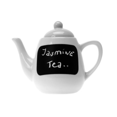 Present Time Talk With Chalk teapot