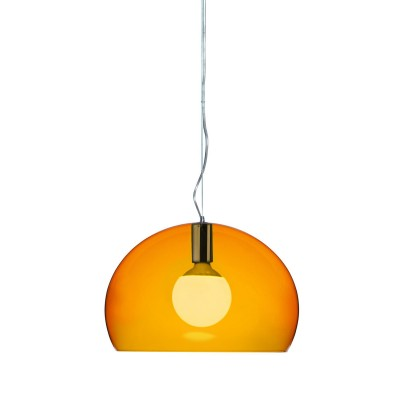 Buy Online Kartell Small FL/Y Transparent LED Ceiling Light