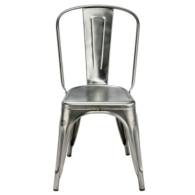 Tolix A Chair: Stainless Steel Outdoor Chair   By Xavier Pauchard