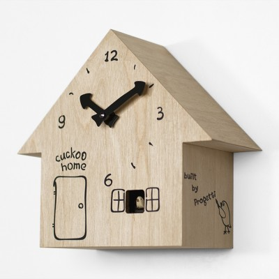 Progetti Cucù Home Cuckoo Clock - A Tiny Country Cottage