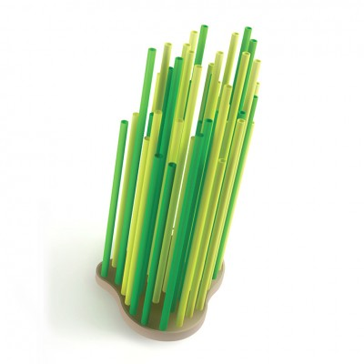 Progetti Zolla Umbrella Stand - Coloured Bamboo Shaped Tubes