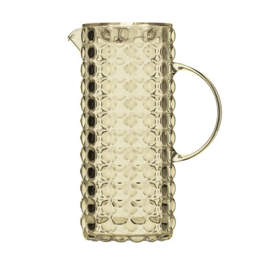 Guzzini Tiffany Pitcher - Transparent Plastic w/ Sparkling Color Effects