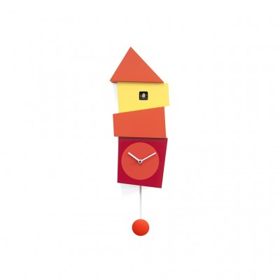 Progetti Crooked Cuckoo Clock - Uneven Shapes & Cheerful Colours
