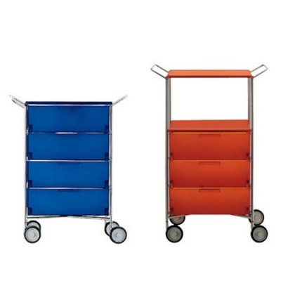 Kartell Mobil drawers with hand rails