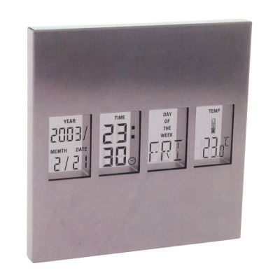 Present Time Weatherstation alarm clock