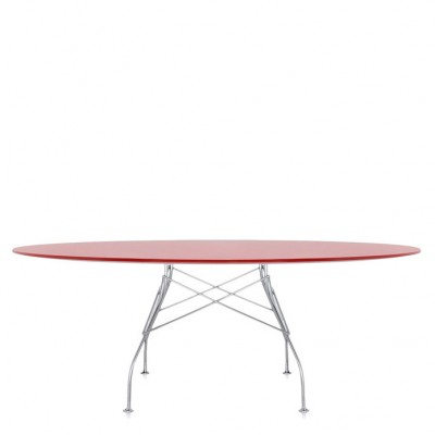 Kartell Glossy Oval Table - Many Table Top / Base Combinations