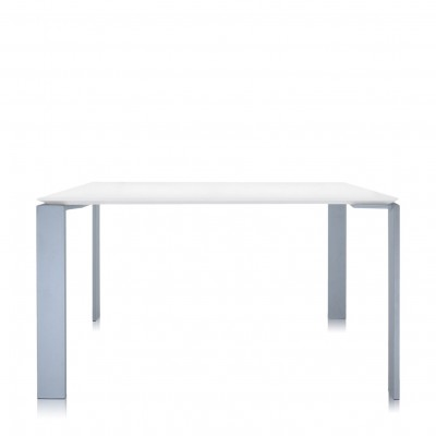 Kartell Four Square Table (128x128cm) - Soft Touch Laminate Top