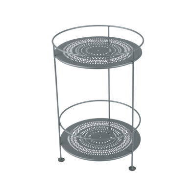Fermob Guinguette (Guéridons) Side Table (Double Top Perforated)