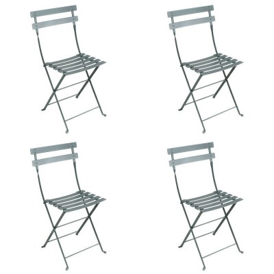 Fermob Bistro Metal Chairs (Set Of 4) Vibrant Colours   FREE UK Delivery