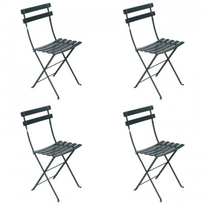 Fermob Bistro Classic Folding Chairs Set Of 4 FREE Shipping