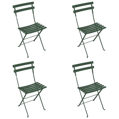 Fermob Bistro Duraflon Folding Chair Set Of 4 FREE Shipping