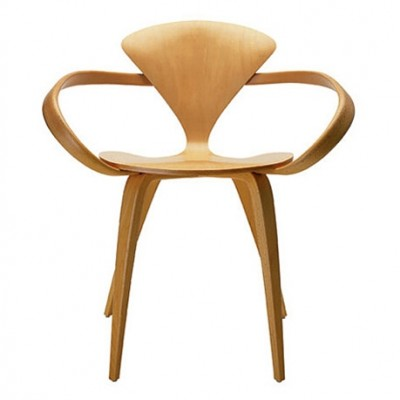 Cherner Dining Armchair Plywood - Designed by Norman Cherner