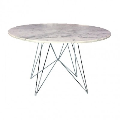 Well known Magis XZ3 Round Table - Carrara Marble Top | FREE Shipping RH85