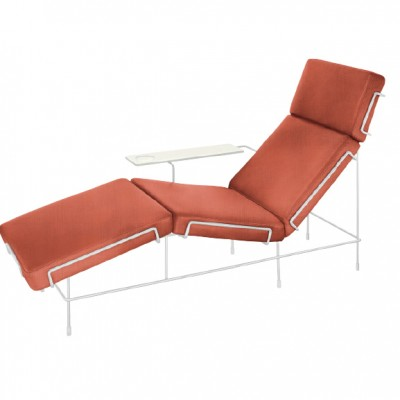 Magis Traffic Chaise Longue (Fabric Upholstery) by Konstantin Grcic