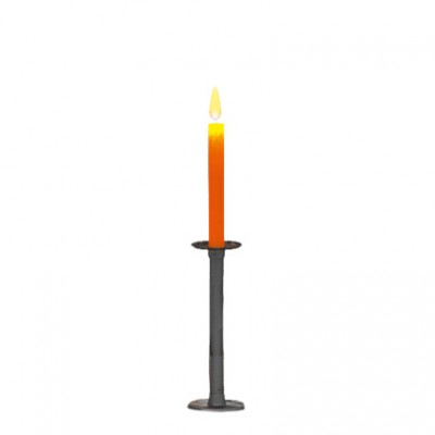 Magis Officina Table Candlestick (Wrought Iron) - FREE UK Delivery